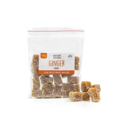 Ginger Candy (70g) | Nature Foods UK
