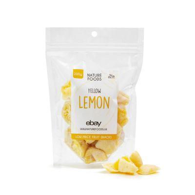 Yellow Lemon (200g) | Nature Foods UK