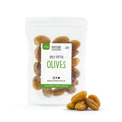 Spicy Pitted Olives