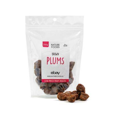 Brown Plums (200g) | Nature Foods UK