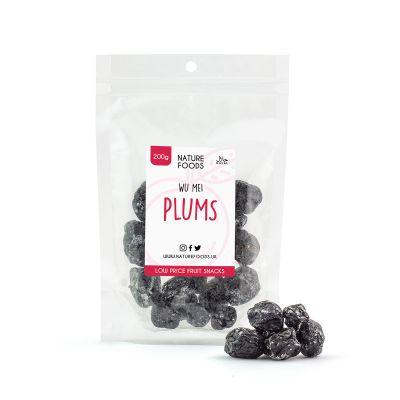 Wu Mei Plums (200g) | Nature Foods UK