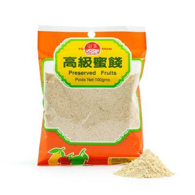 White Sweet Cured Prune Powder Asam Boi Suen Mui